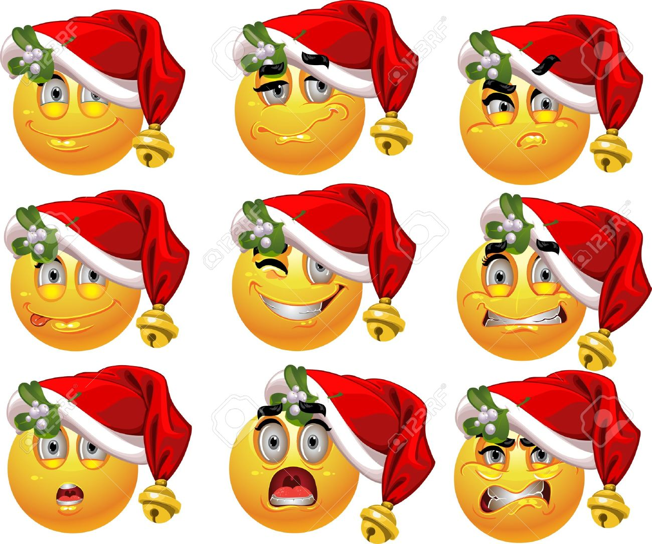 Christmas Smiley Faces Images & Stock Pictures. Royalty Free ...