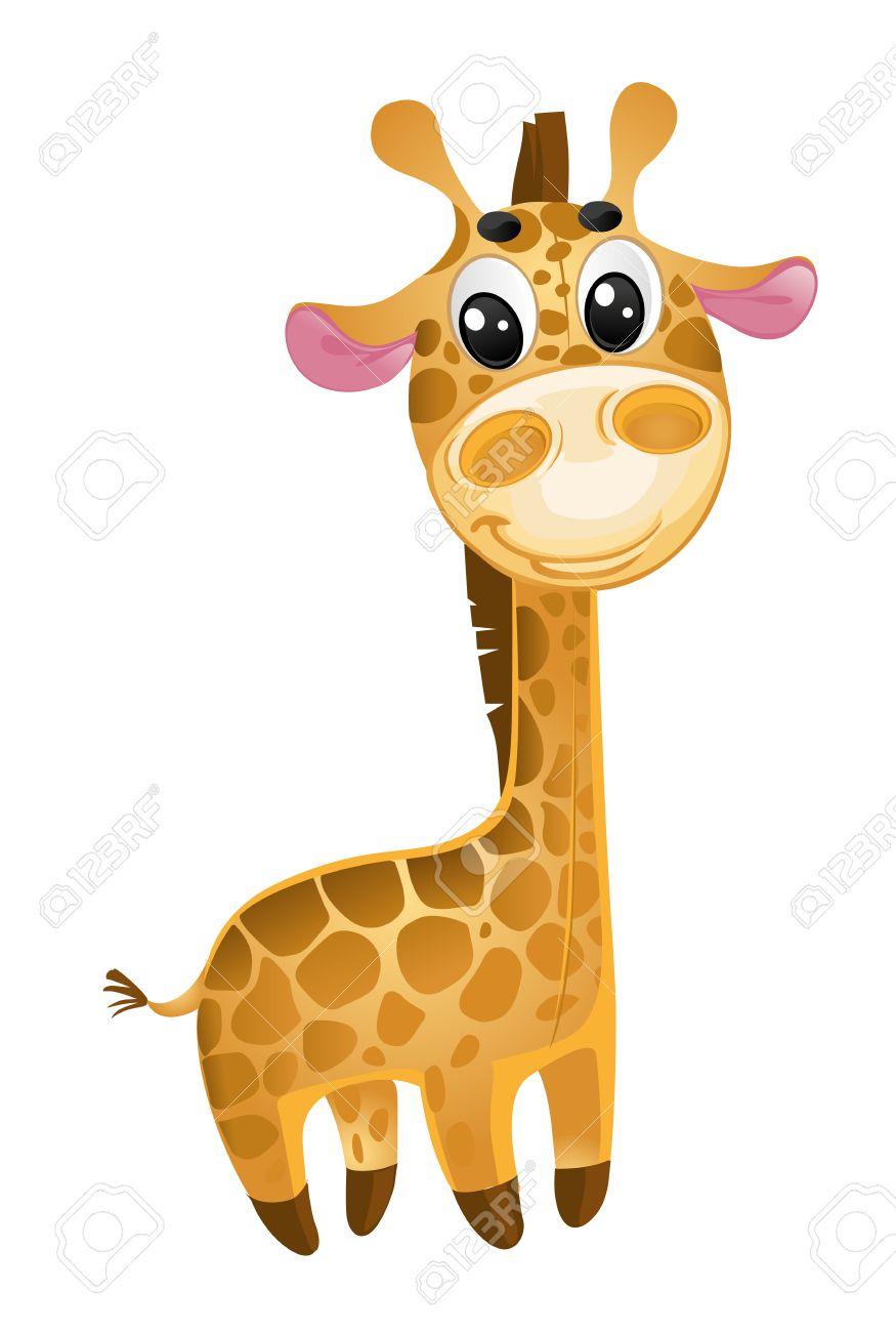 soft toys - baby giraf...