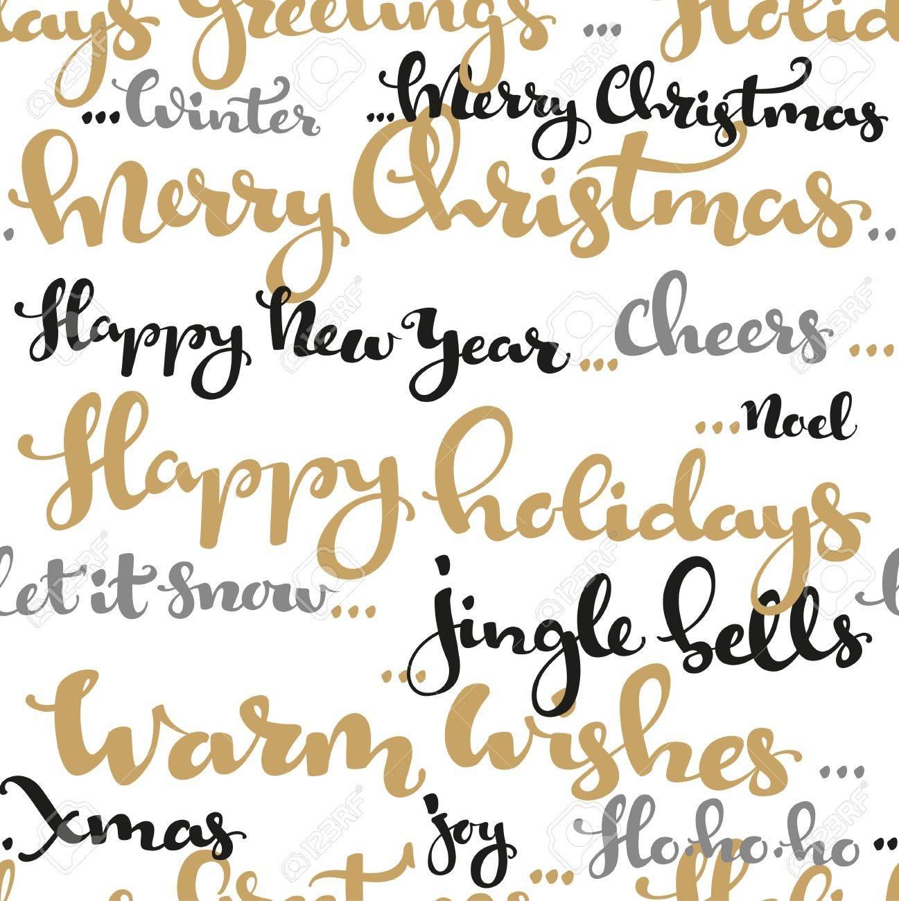 Muster Für Weihnachtsgrüße.Stock Photo