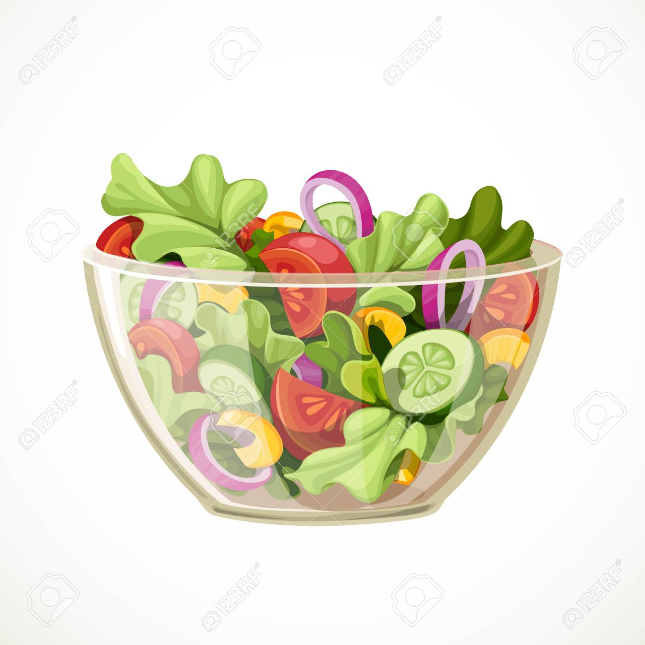 green salad of fresh vegetables in a transparent salad bowl object royalty free cliparts vectors and stock illustration image 96990392 green salad of fresh vegetables in a transparent salad bowl object royalty free cliparts vectors and stock illustration image 96990392