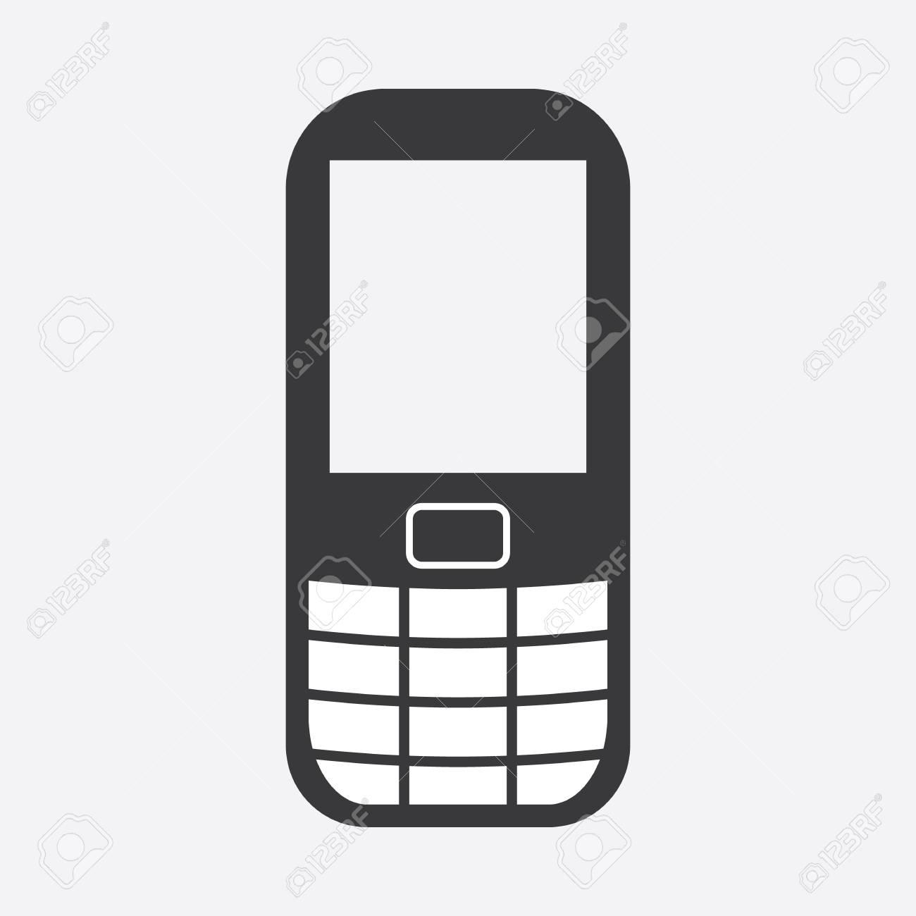 Cell Phone Icon >> Cell Phone Icon Mobile Phone Icon Vector Icon Royalty Free