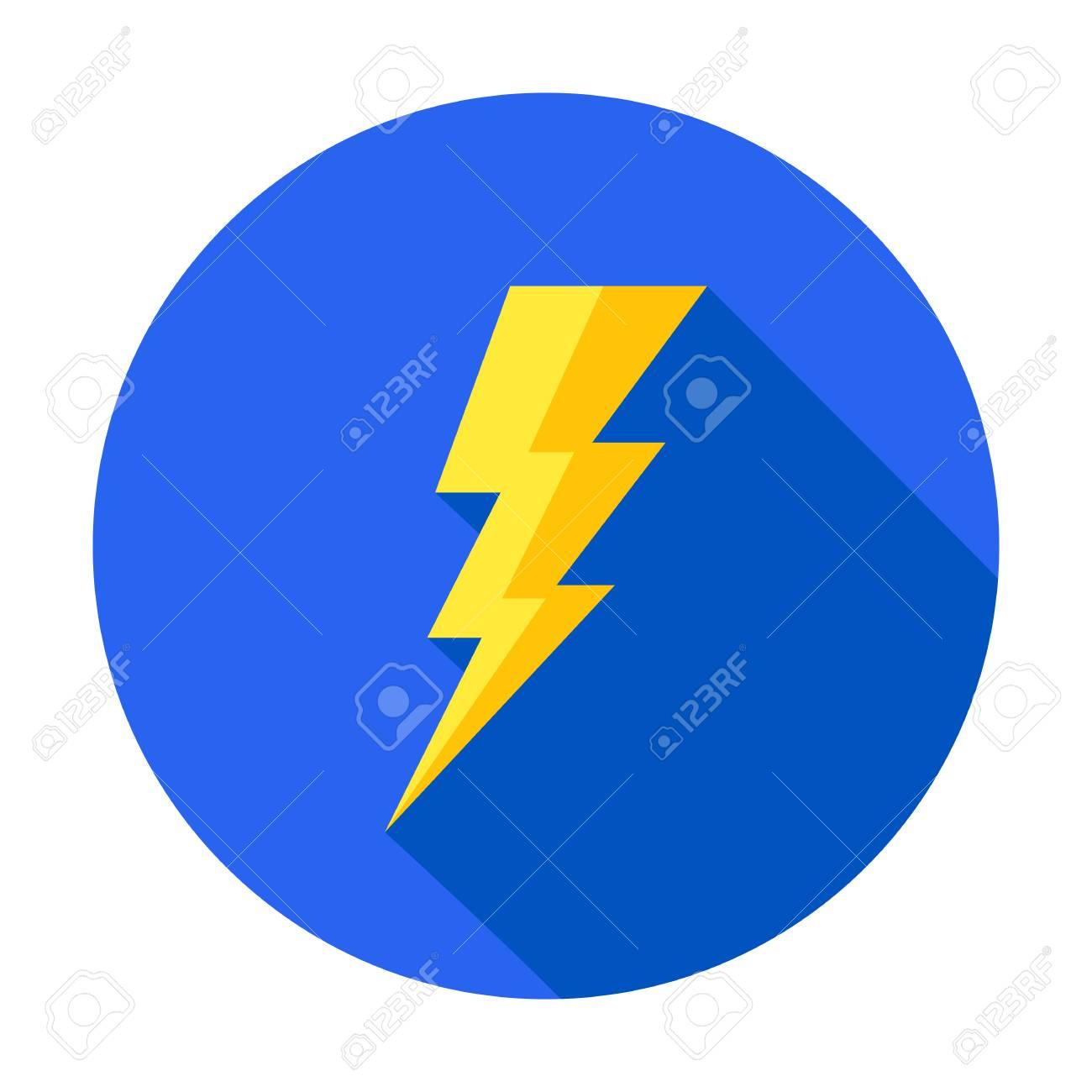 Flash icon. Bolt of lightning vector. Lightning illustration. Streak of lightning sign. Electric bolt flash icon. Lightning design element. Thunder strike logo. Charge flash icon. Thunderbolt icon - 112464009