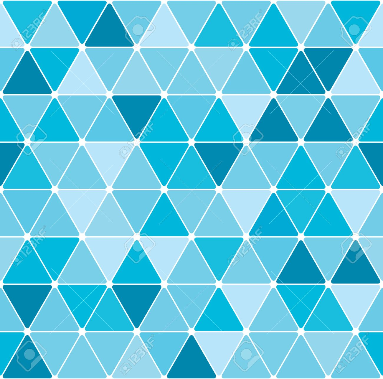 Winter triangle pattern background Stock Vector - 5681639
