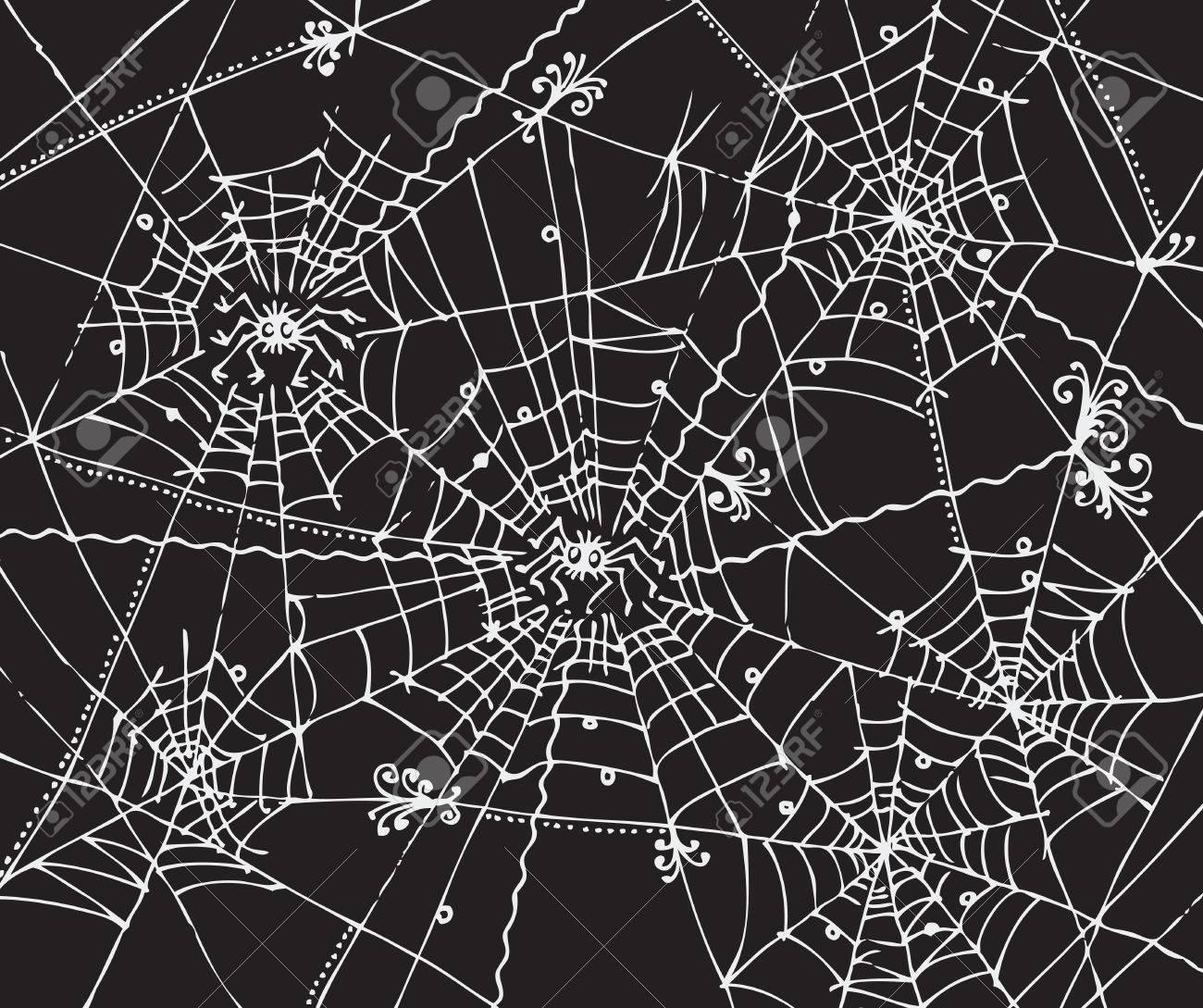 Web background 318 Eau-forte black-and-white decorative vector illustration Stock Vector - 7989519