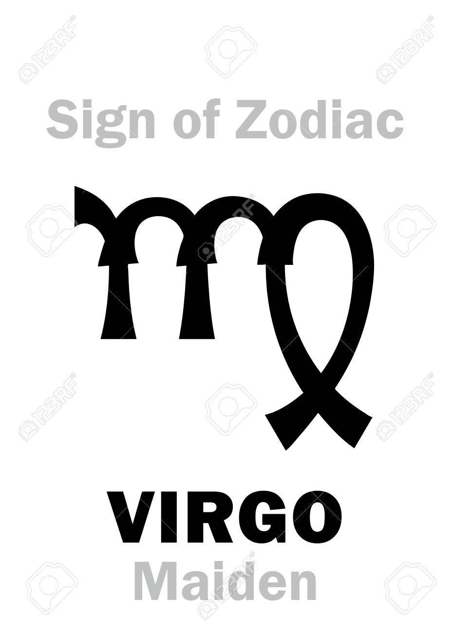 Astrology alphabet sign of zodiac virgo the maiden hieroglyphics astrology alphabet sign of zodiac virgo the maiden hieroglyphics character sign buycottarizona Gallery