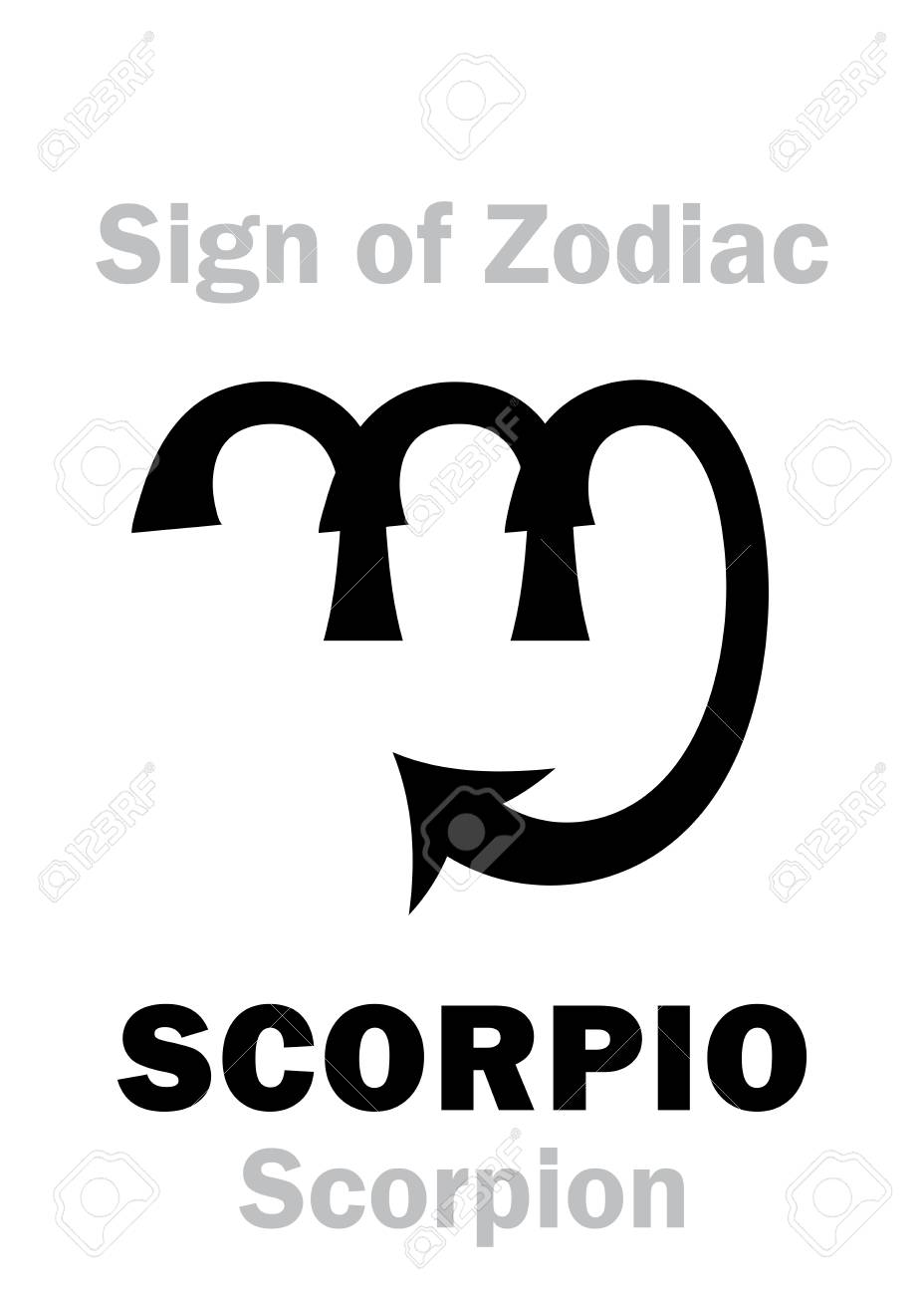 Astrology alphabet sign of zodiac scorpio the scorpion astrology alphabet sign of zodiac scorpio the scorpion hieroglyphics character sign buycottarizona Image collections
