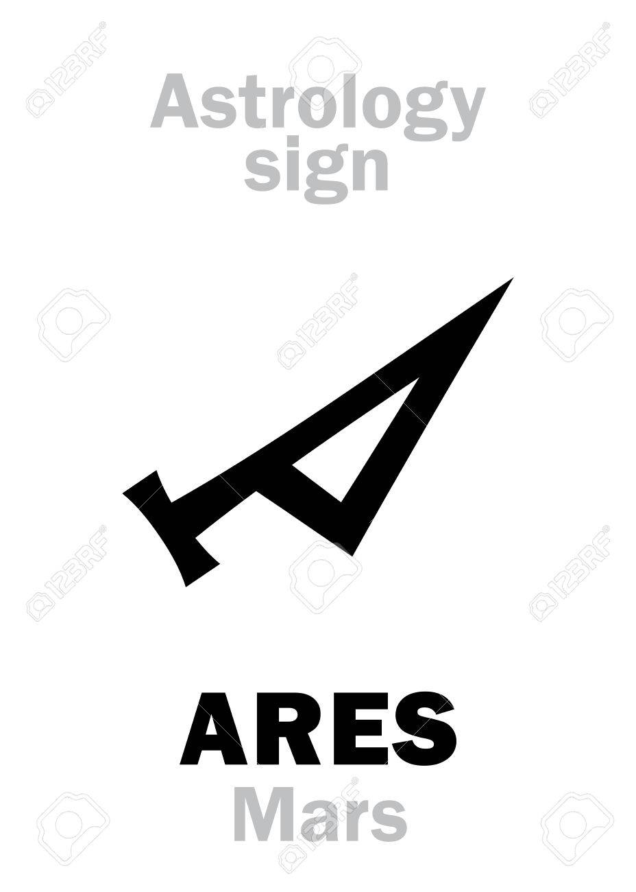 Astrology Alphabet Mars Ares The Planetary Star Planet