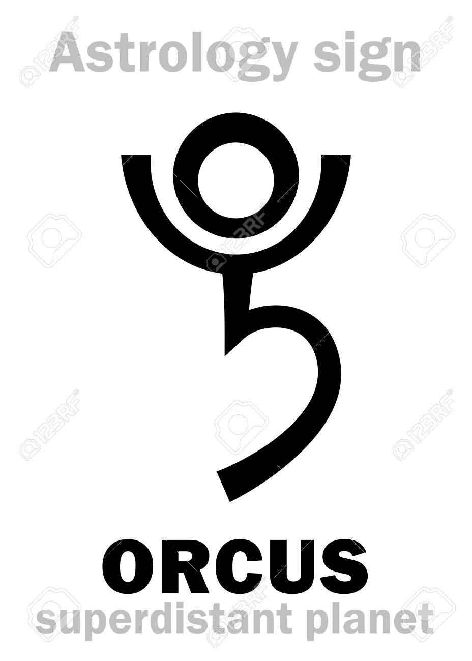 Astrology alphabet orcus superdistant planet plutino beside astrology alphabet orcus superdistant planet plutino beside pluto hieroglyphics character biocorpaavc Image collections