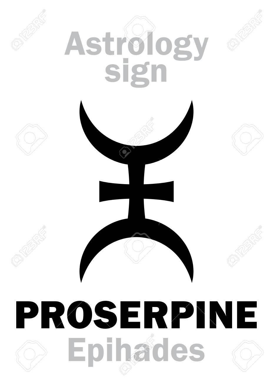 Astrology Alphabet Proserpine Epihades Supreme Hypothetic