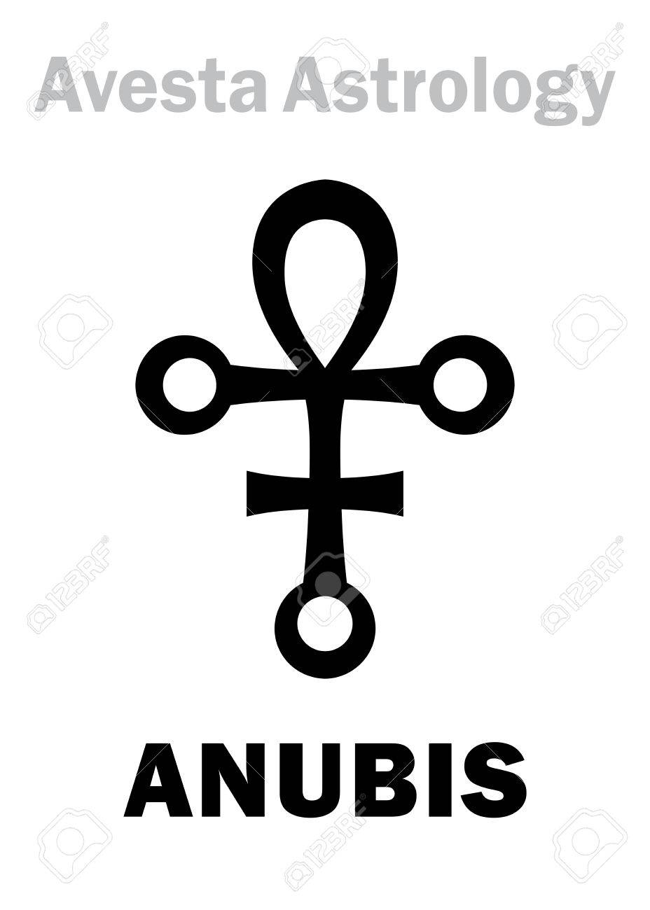 Astrology Alphabet: ANUBIS, Avestian astral planet-conductor