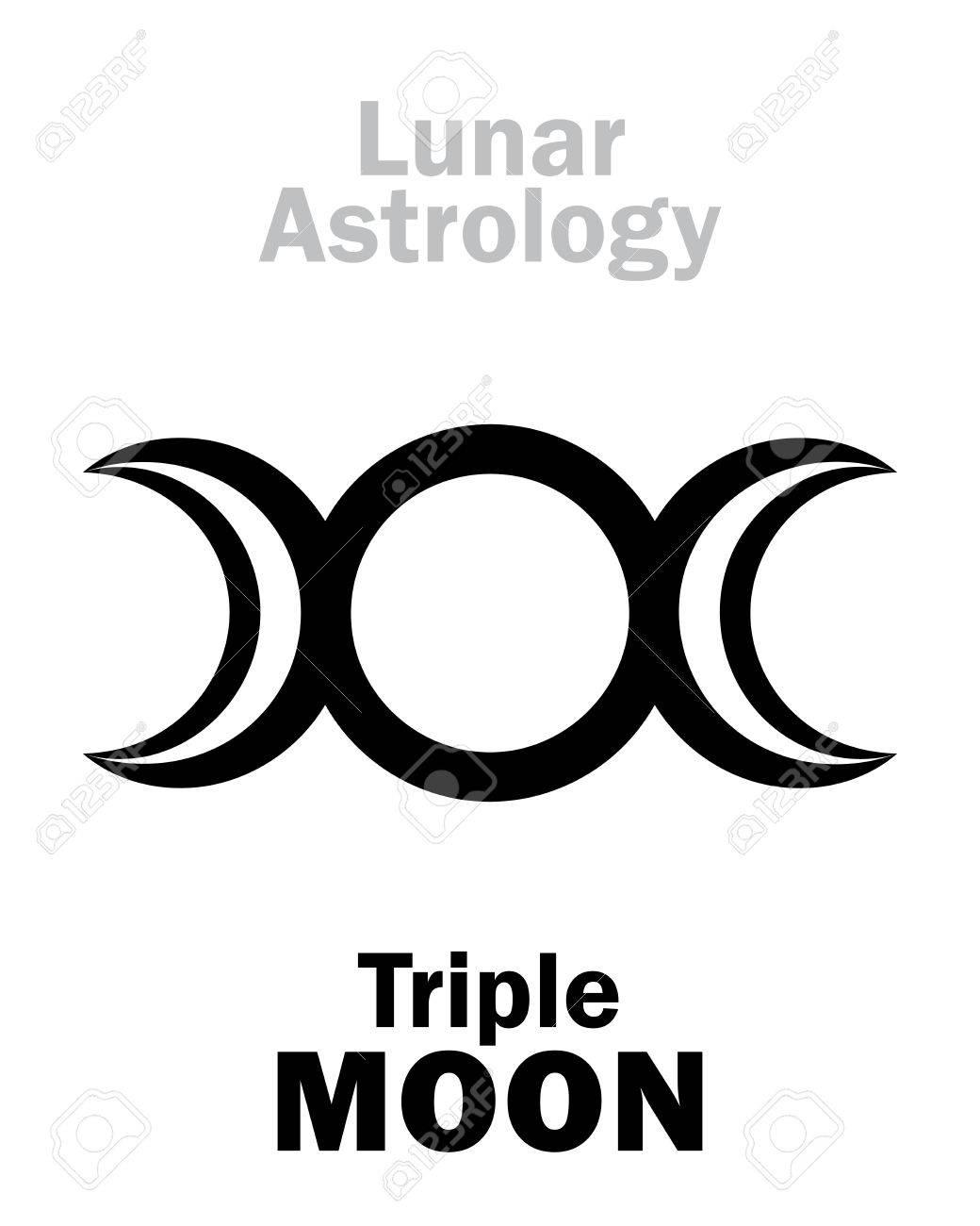 Astrology alphabet triple moon threefaced goddess maiden astrology alphabet triple moon threefaced goddess maiden mother crone biocorpaavc