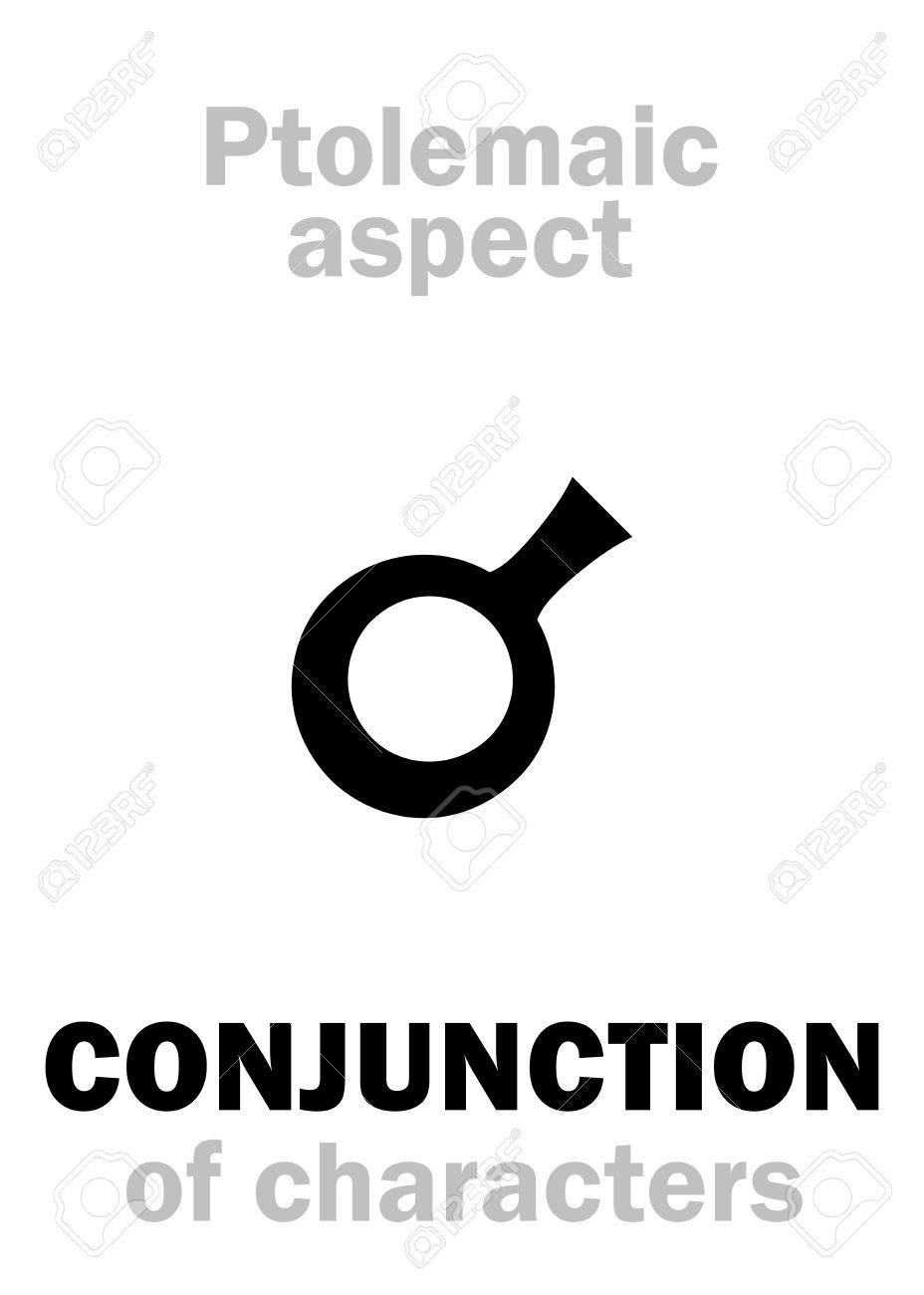 astrology alphabet conjunction 0 of characteristics classic