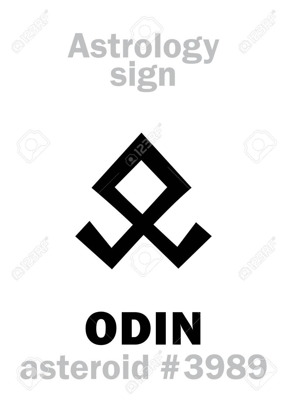 Odin Symbol Icon Royalty Free Cliparts Vectors And Stock