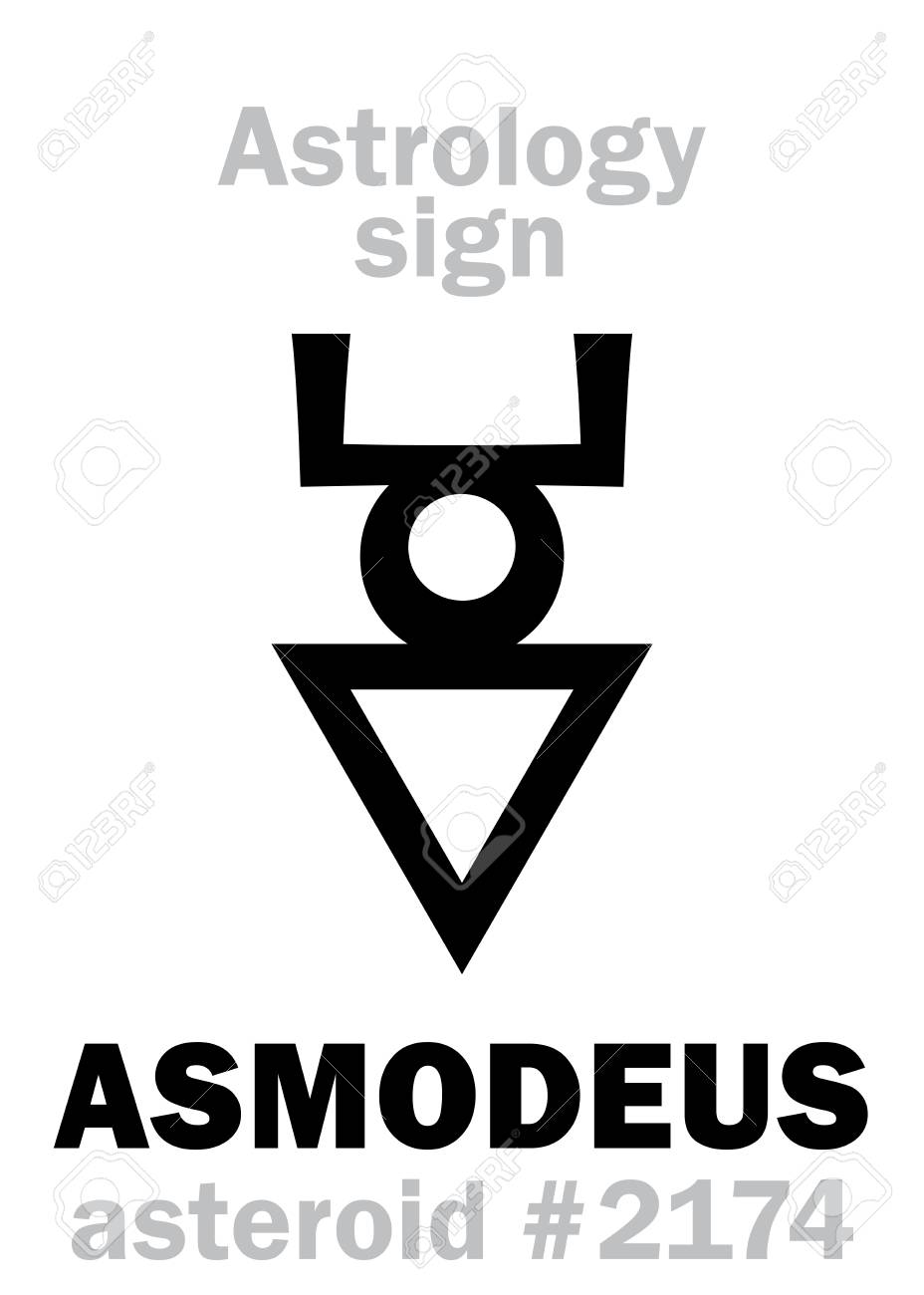 Astrology alphabet asmodeus hashmedai asteroid 2174 astrology alphabet asmodeus hashmedai asteroid 2174 hieroglyphics royalty free cliparts vectors and stock illustration image 85174355 biocorpaavc Choice Image