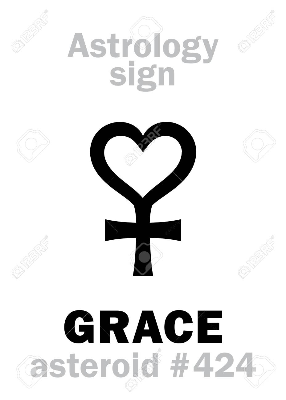 Astrology alphabet grace asteroid 424 hieroglyphics character astrology alphabet grace asteroid 424 hieroglyphics character sign single symbol biocorpaavc Images