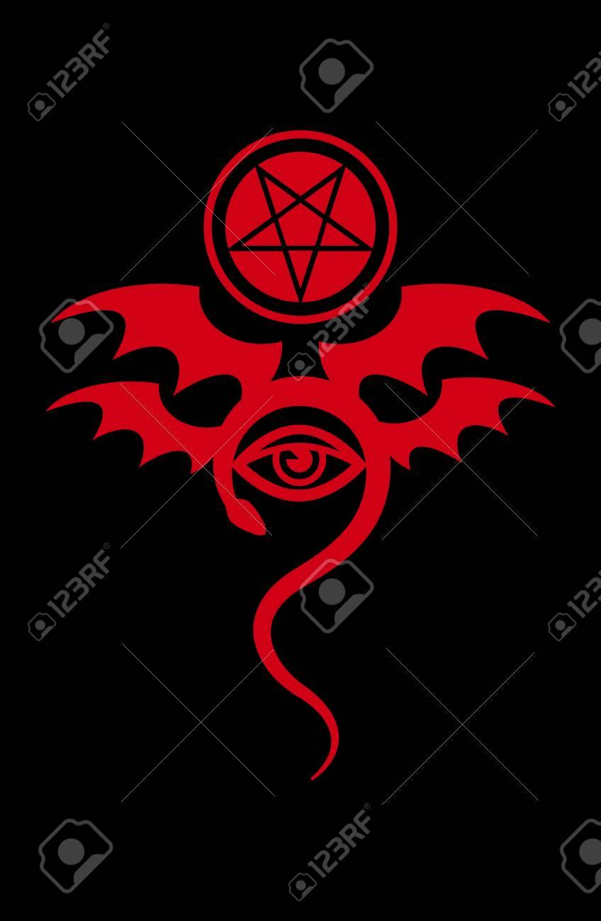 Evil eye the greater malefic emblem of witchcraft and sign emblem of witchcraft and sign of necromancy biocorpaavc Choice Image