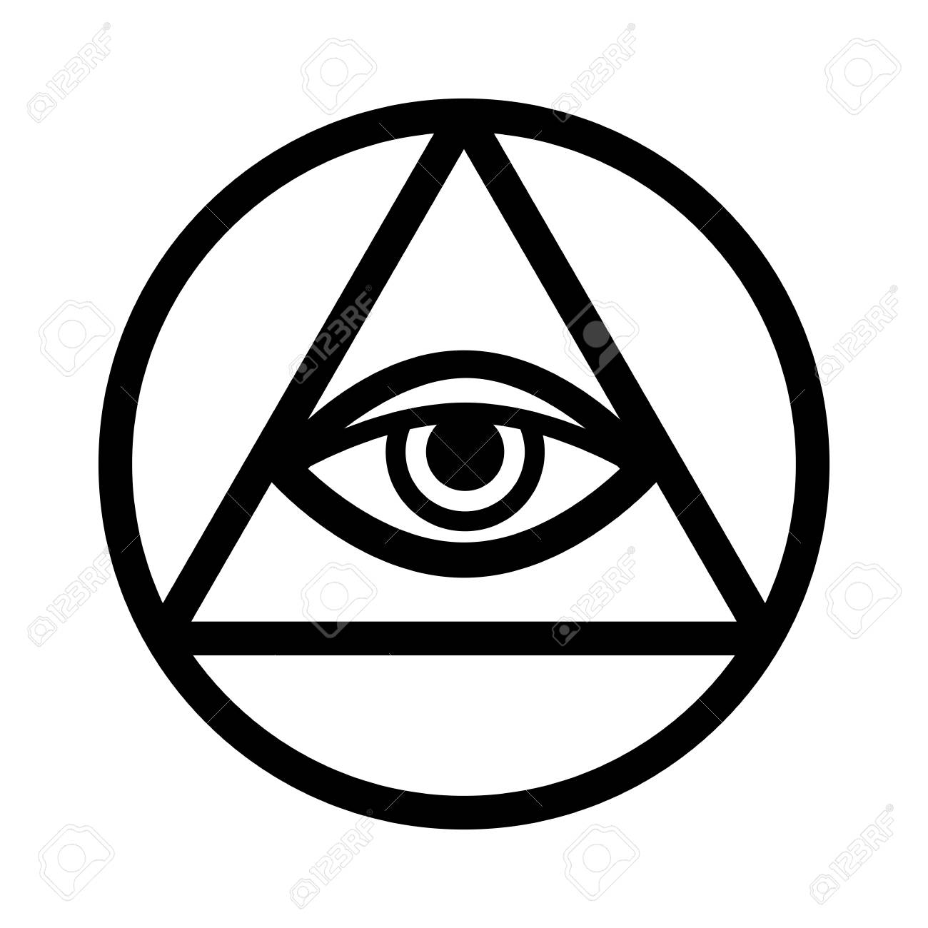 Alpha and omega stock photos royalty free business images all seeing eye of god the eye of providence eye of omniscience biocorpaavc