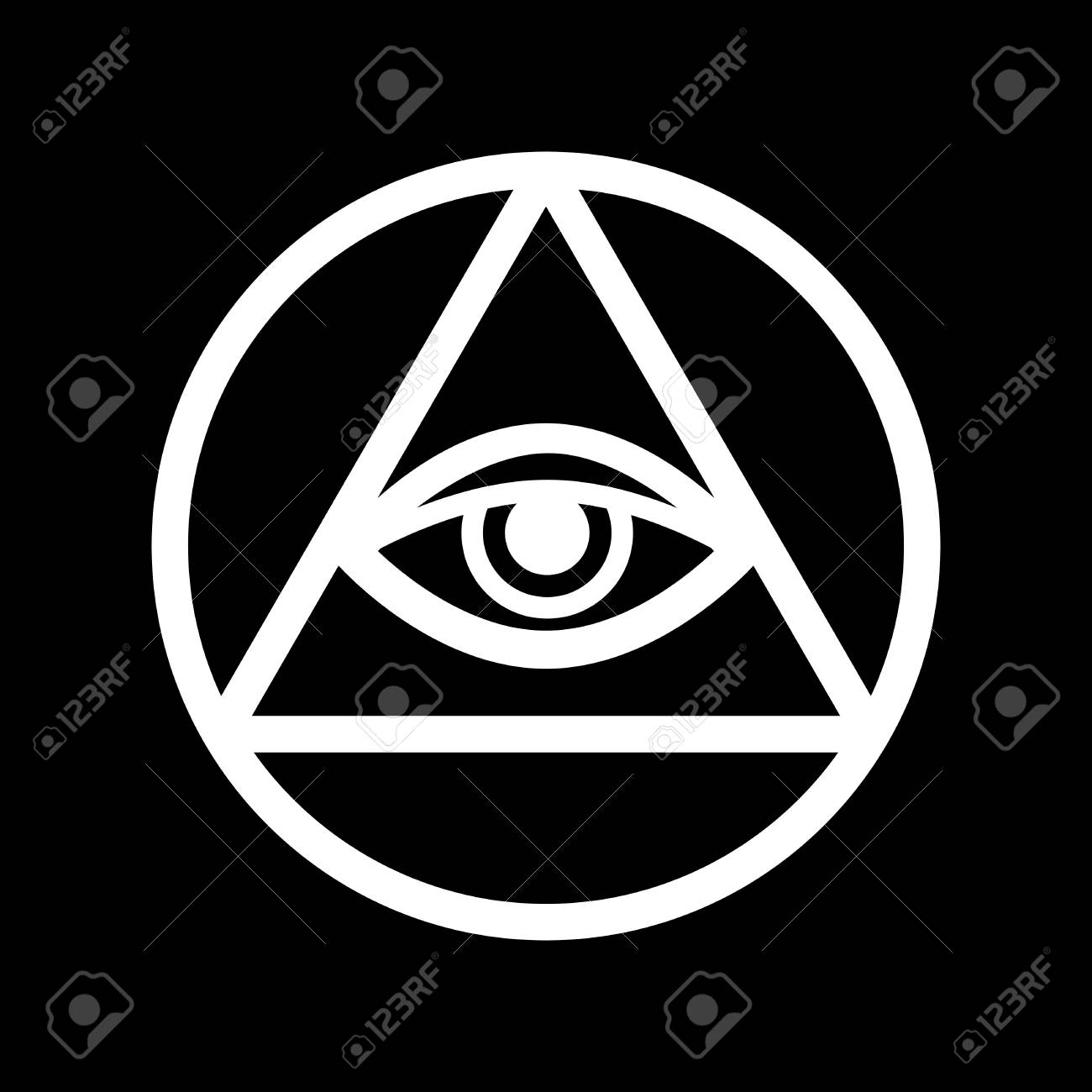 Alpha and omega stock photos royalty free business images all seeing eye of god the eye of providence eye of omniscience biocorpaavc Choice Image