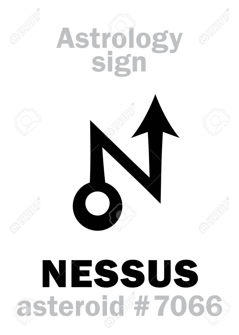 Astrology Alphabet: NESSUS, asteroid #7066, cis-Neptunian object