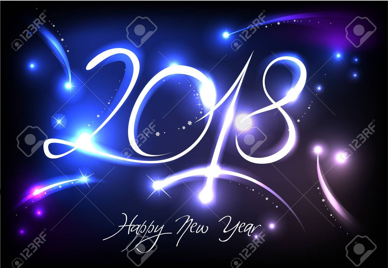 New Year 2018 background - 88795958
