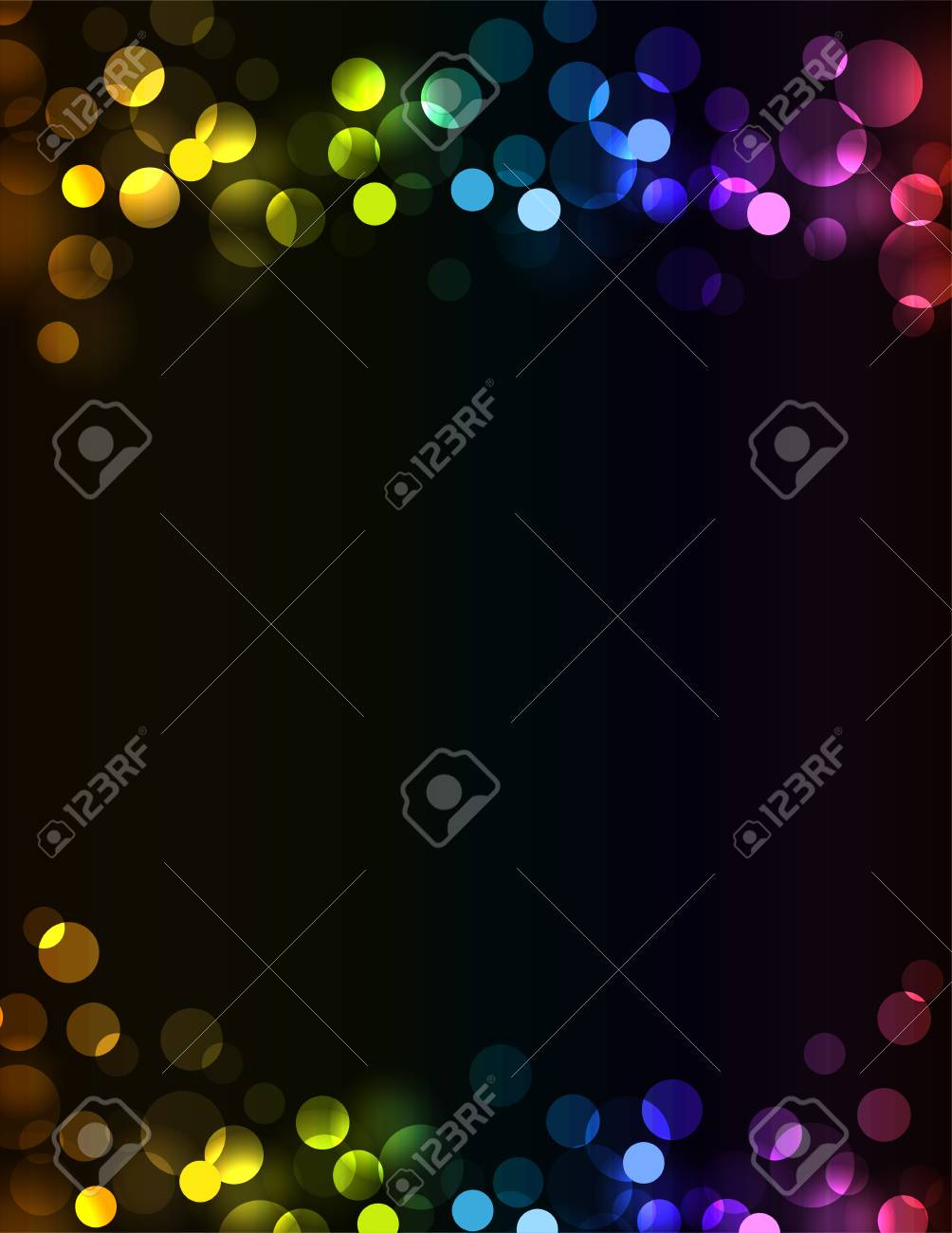 New Year Party Invitation Background Royalty Free Cliparts Vectors