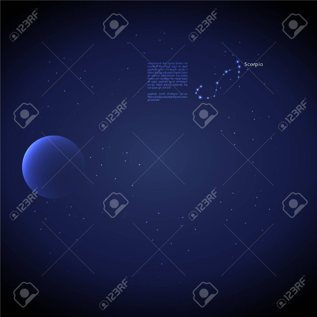Zodiac : Scorpio Stock Vector - 13634556