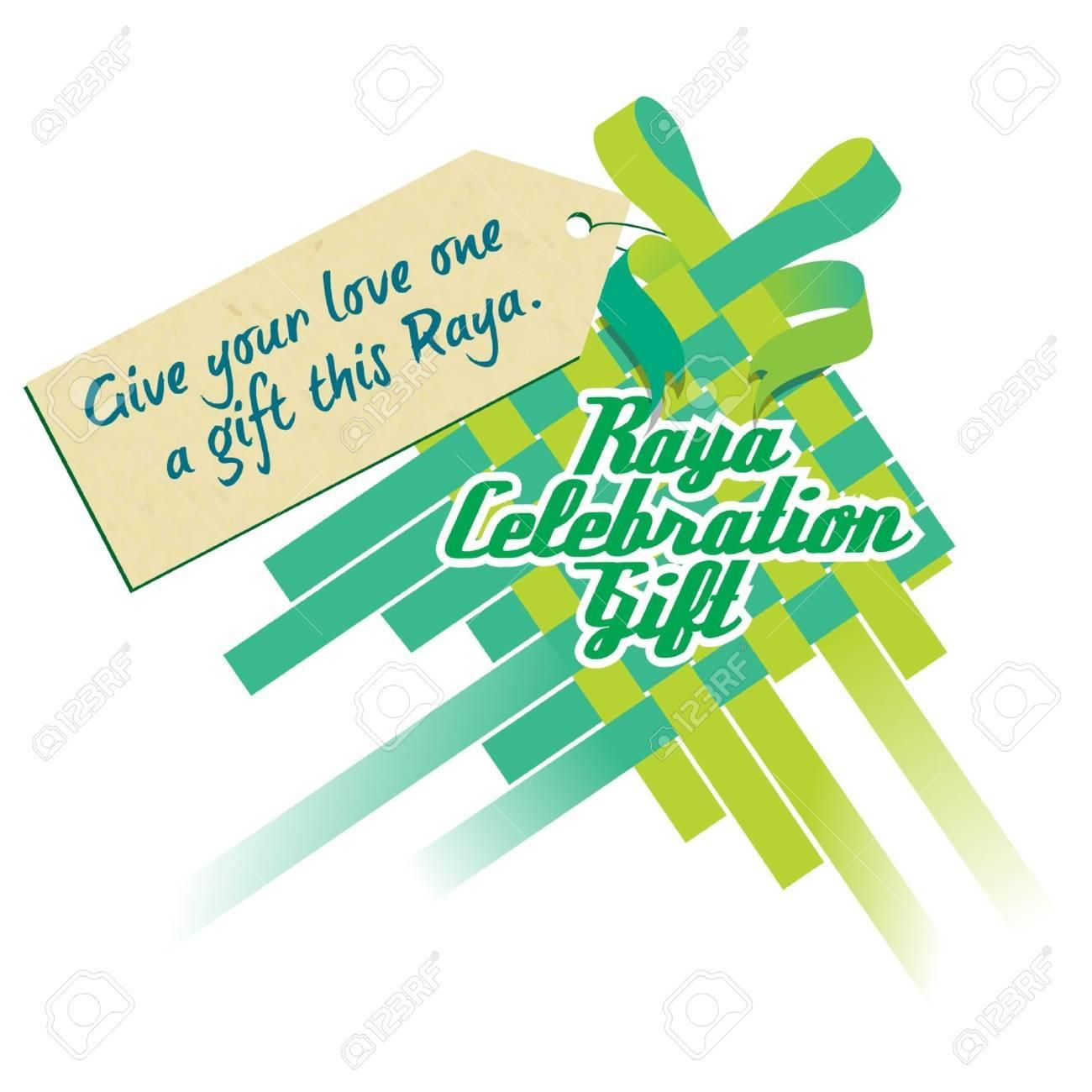 Raya Celebration Gift Stock Vector - 14799027