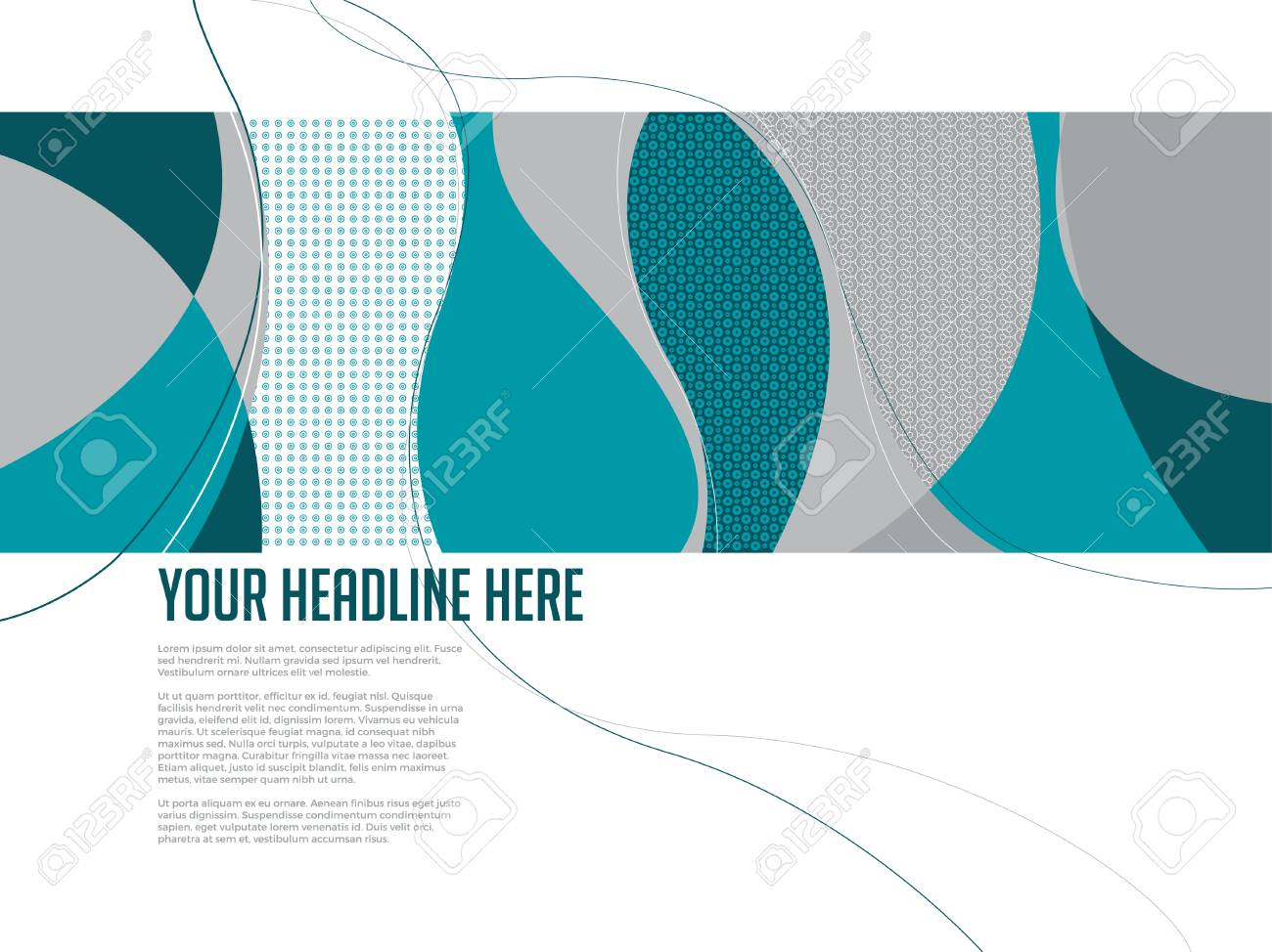 swirl pattern design template royalty free cliparts vectors and