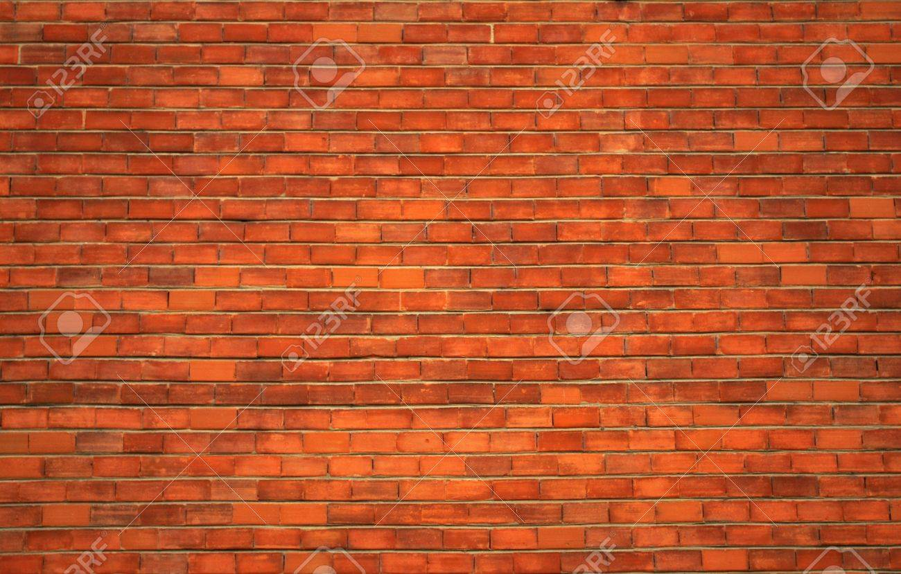 Red Brick Wallpaper Part - 17: A Red Brick Wall For Backgrounds Or Wallpaper Stock Photo - 5525737