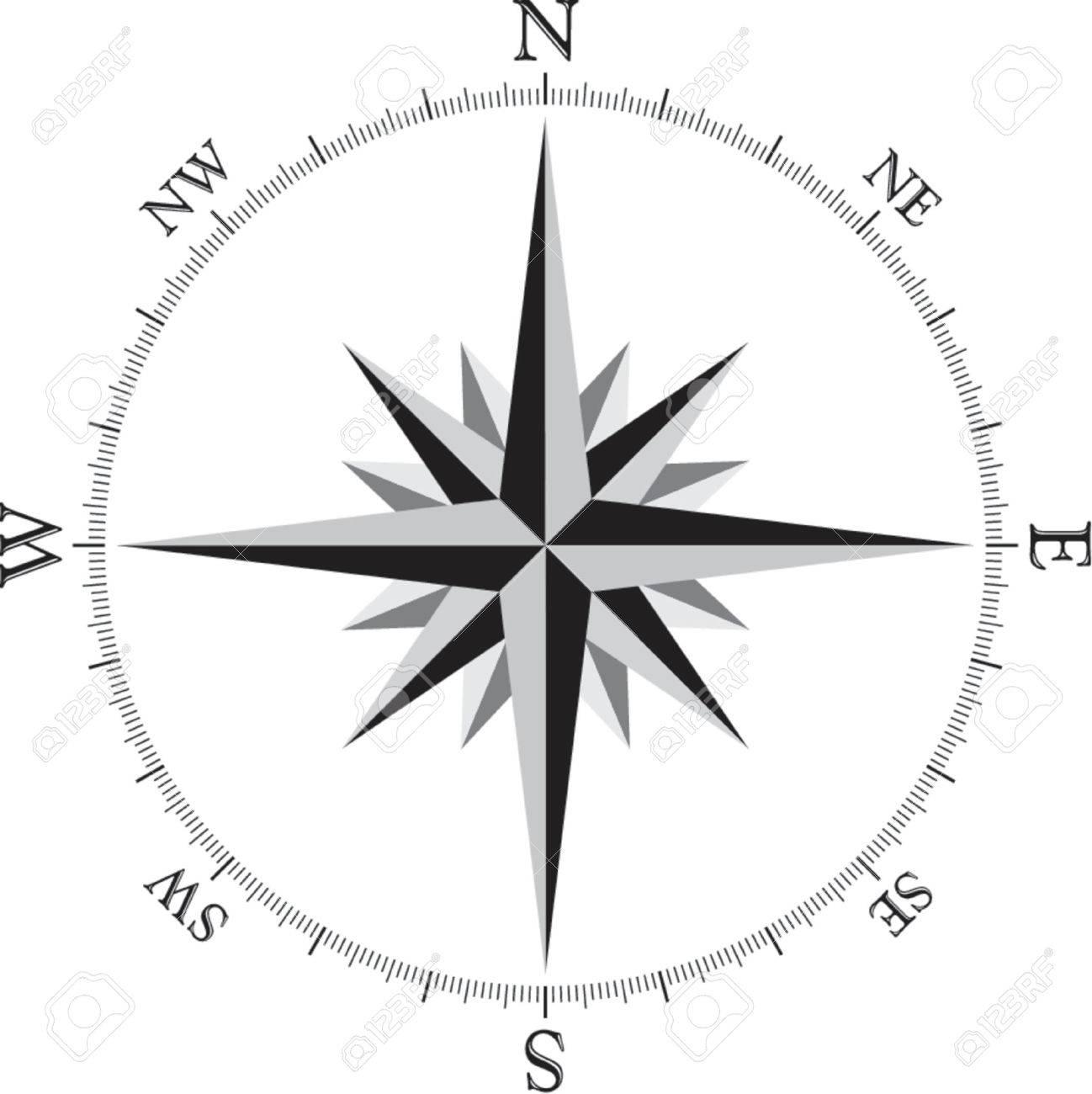 Как сделать компас из бумаги своими руками