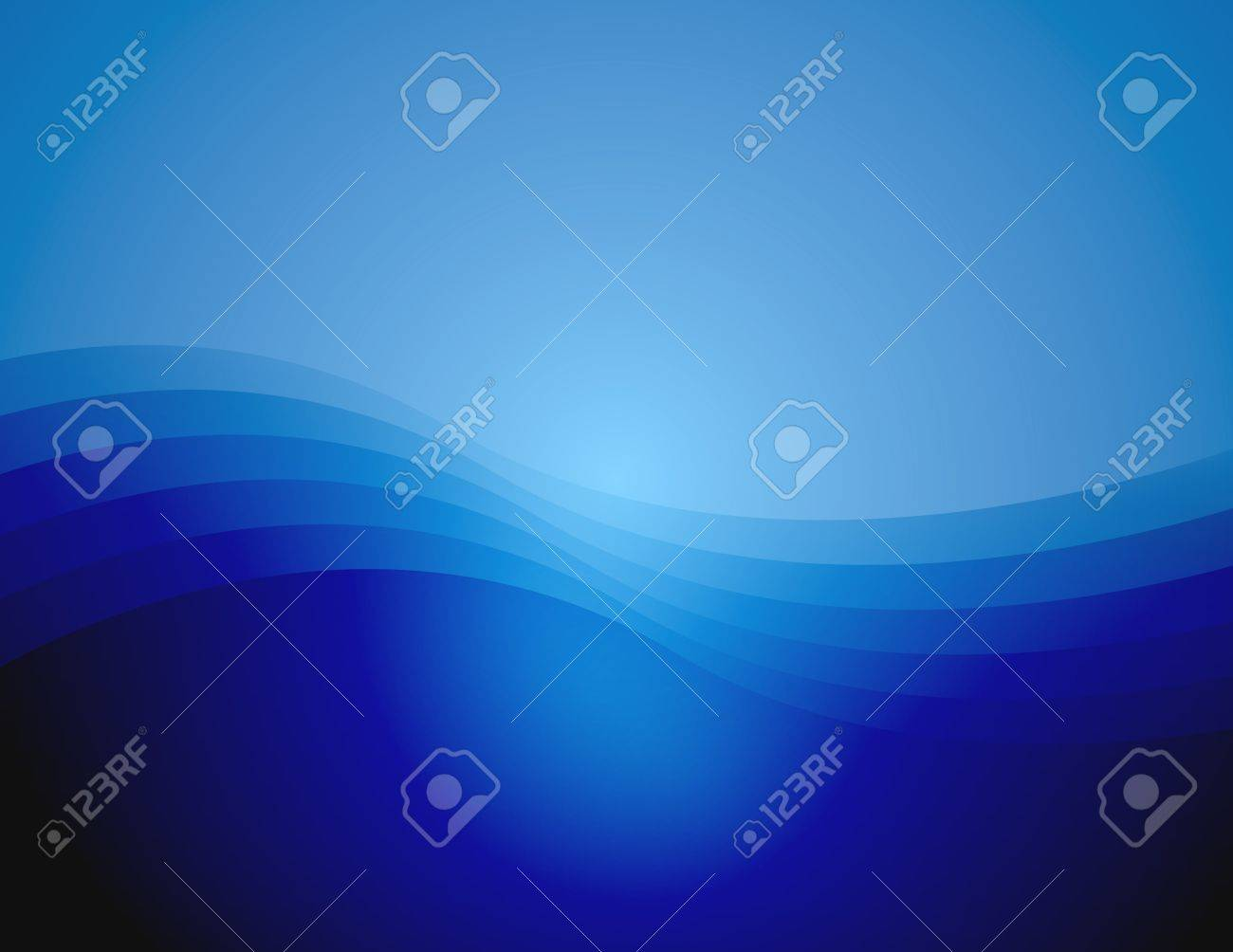 Background with gradient and waves Stock Photo - 692218