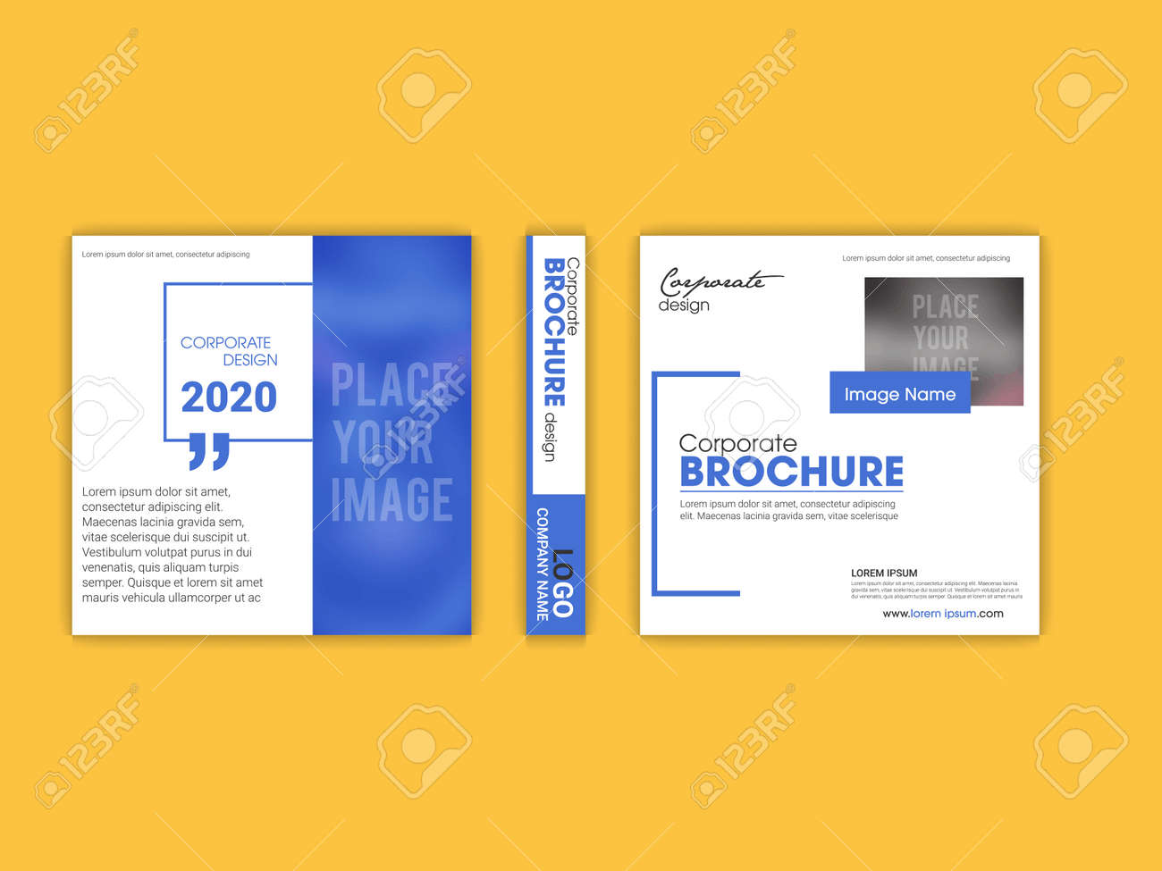 Template vector design for Brochure, Annual Report, Magazine, Poster, Corporate Presentation, Portfolio, Flyer, infographic, layout modern - 168074138