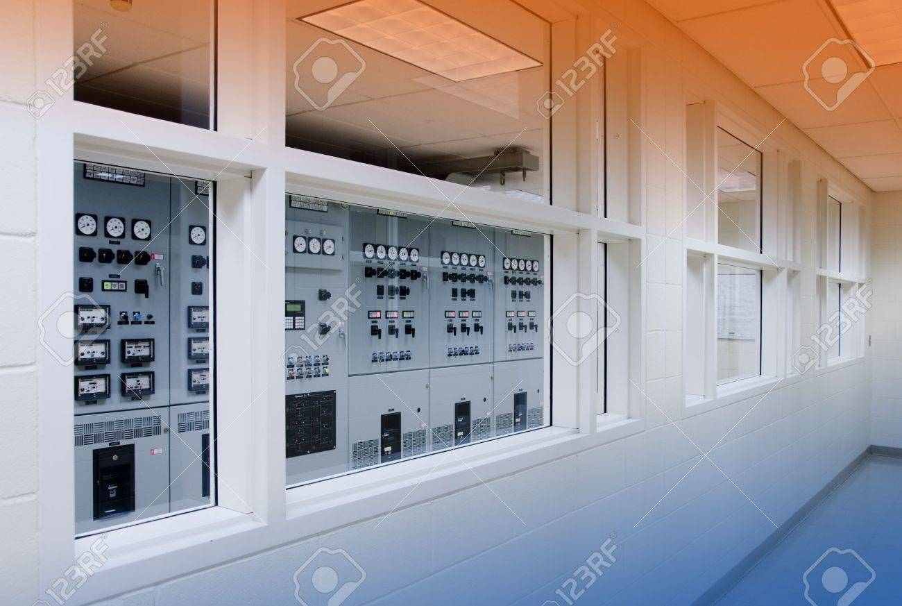 Superb Electricity Control Room In Commercial Building Stock Photo Largest Home Design Picture Inspirations Pitcheantrous