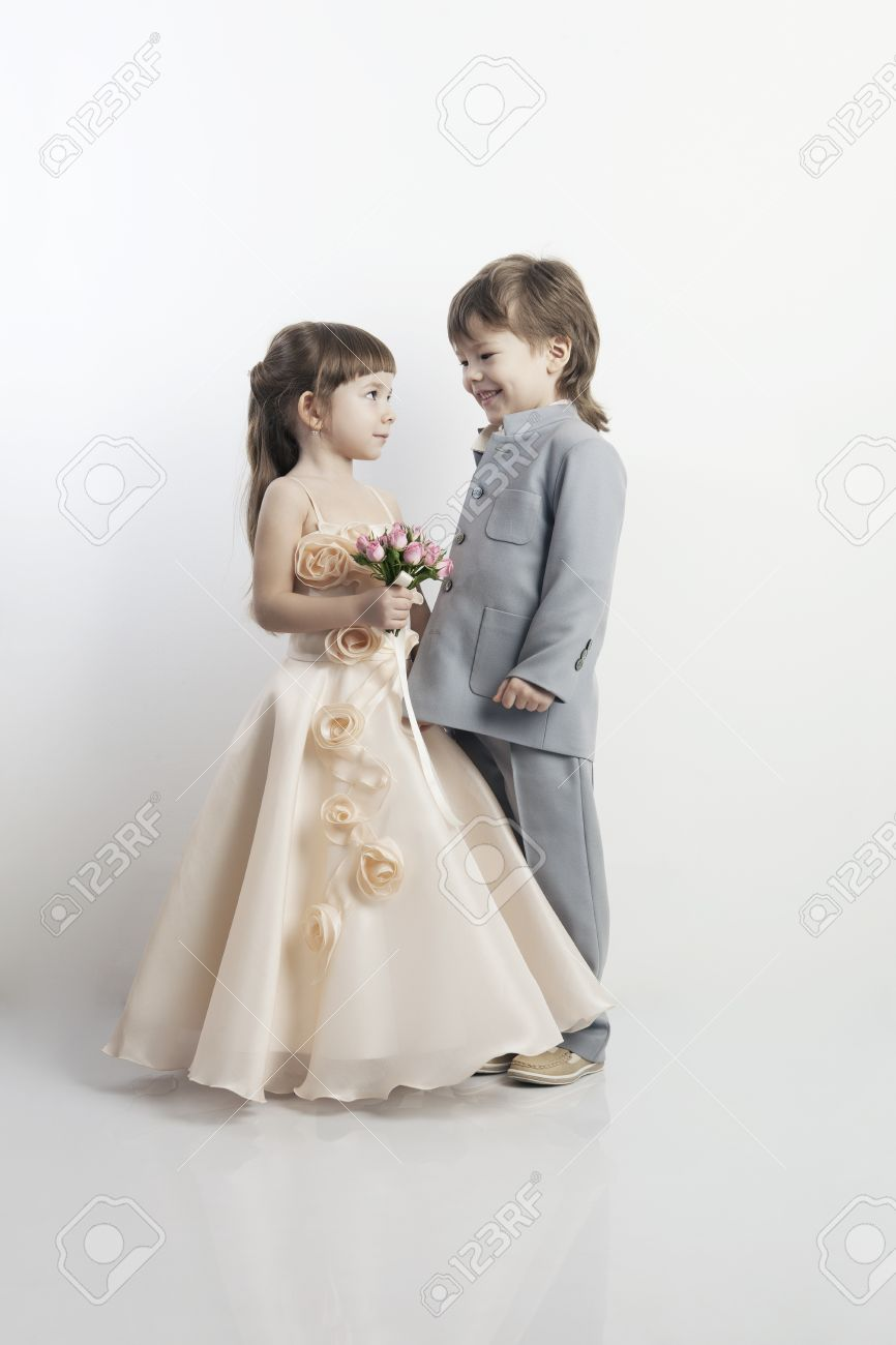 Vestidos hermosos para ninas blancos