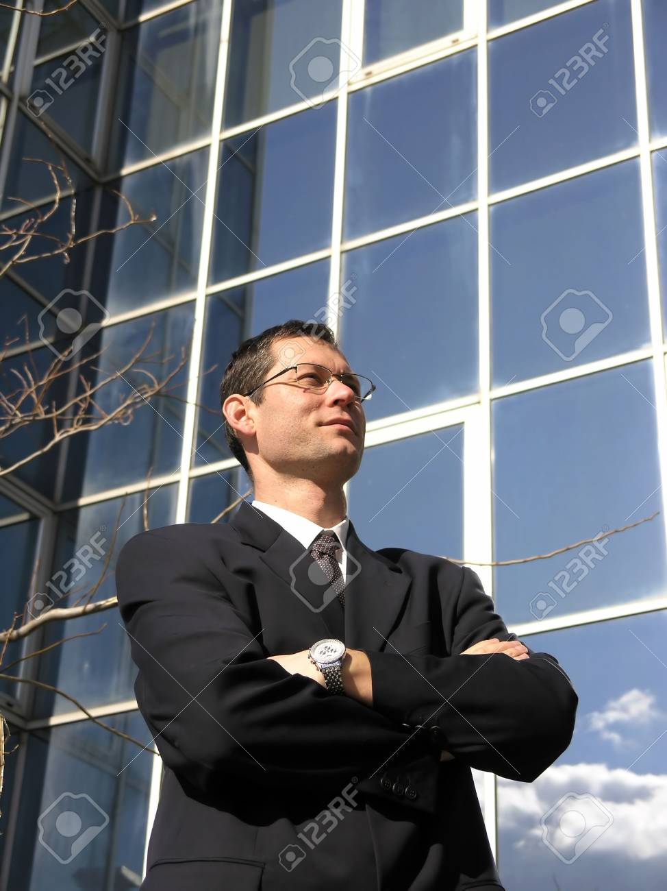 Young Businessman.  Satisfied  professional. Stock Photo - 2638786