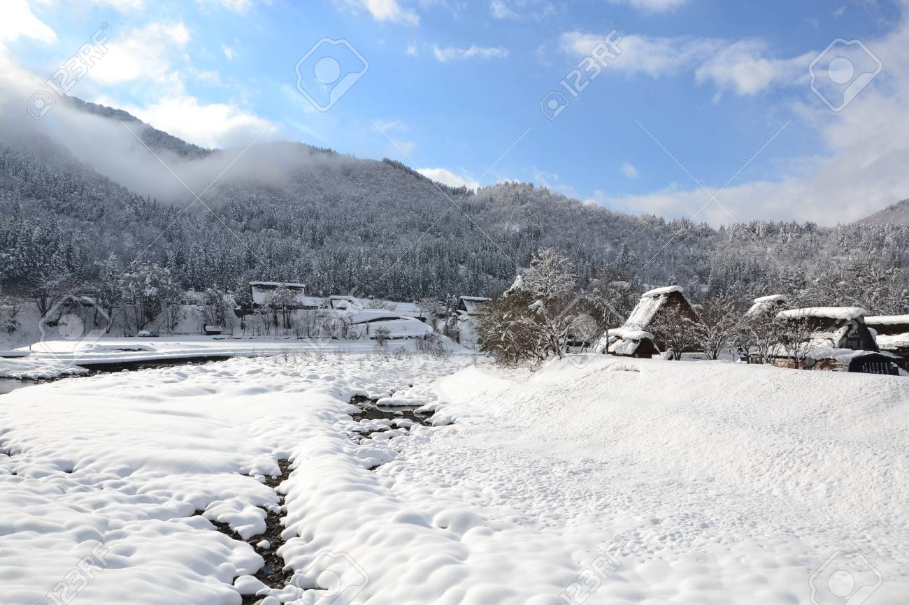 Historic Villages of Shirakawa-go is Japan's  The architectural