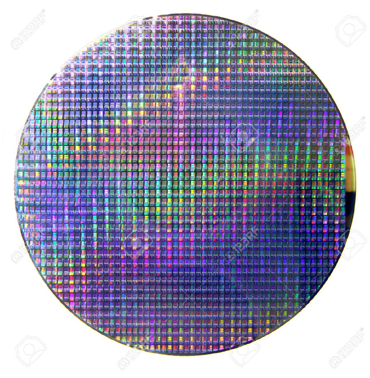 コンピューター シリコンウエハ の写真素材・画像素材 Image 36486164.