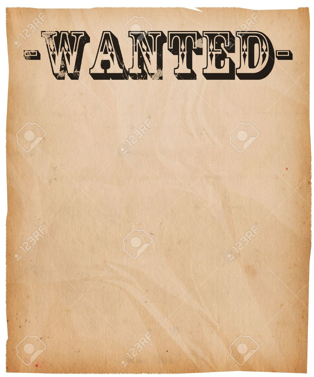 Doc500647 Printable Wanted Poster Template printable wanted – Wanted Poster Template Download