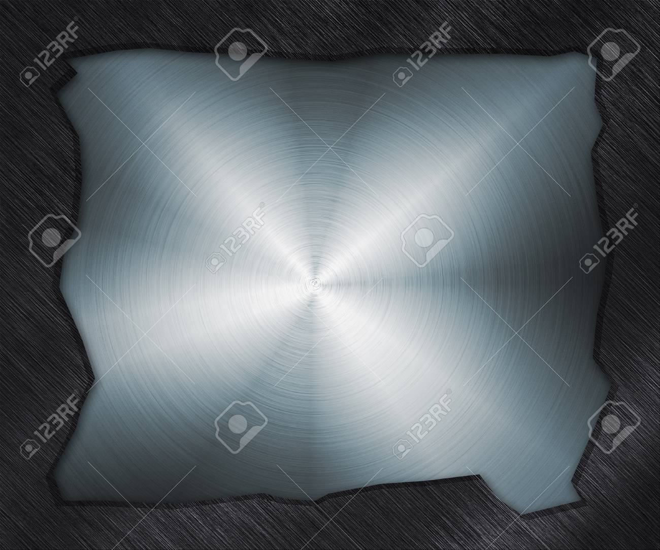 Hole in Metal Plate Stock Photo - 14043390