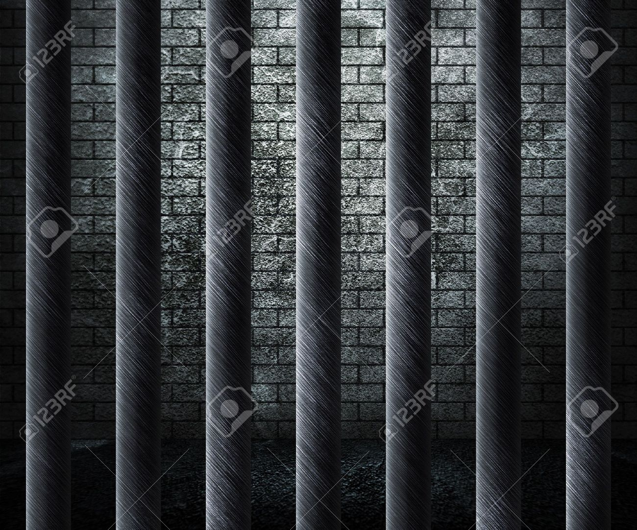 Prison Cell Background Stock Photo - 14367387