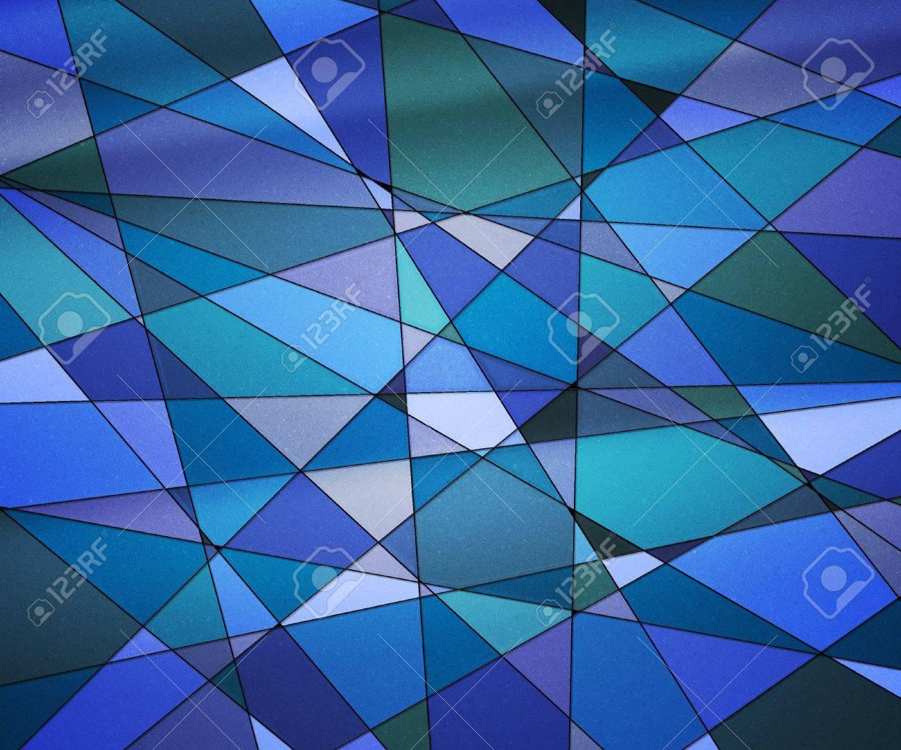 Blue Glass Texture
