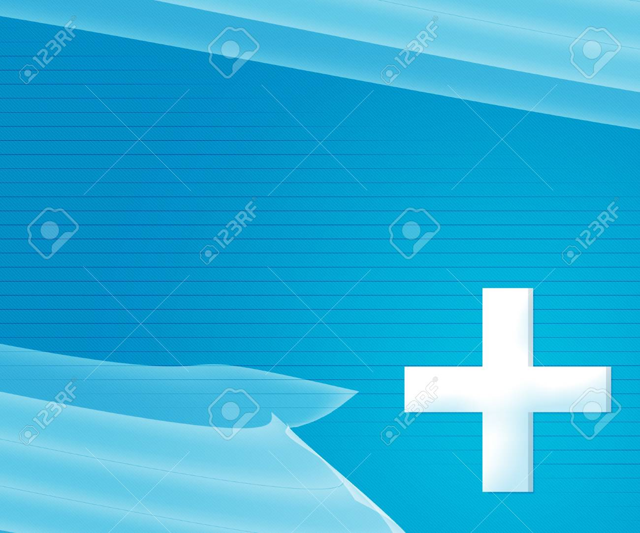 Blue Simple Medical Background Stock Photo - 17075403