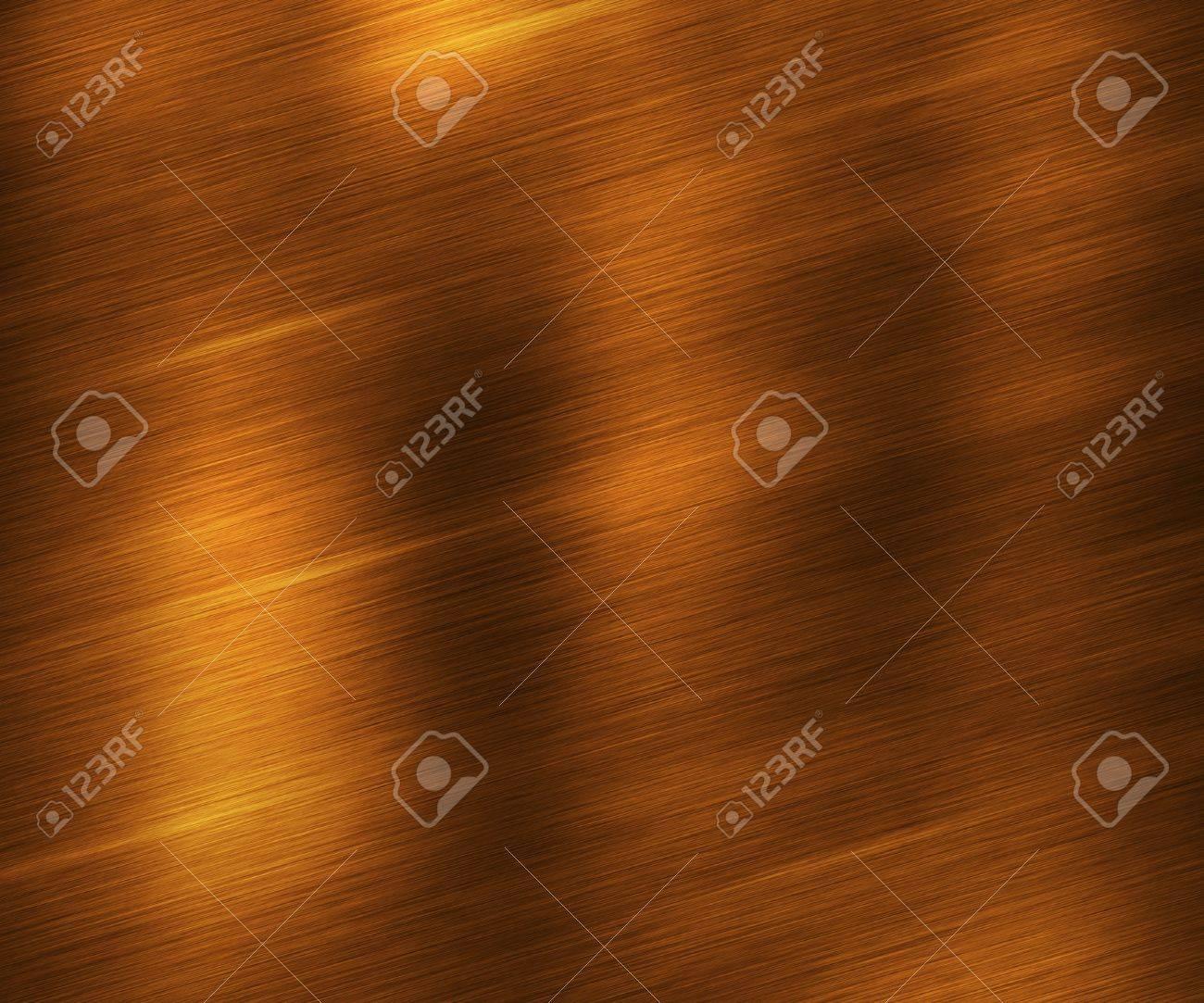 Gold Brushed Metal Texture Stock Photo - 17559619