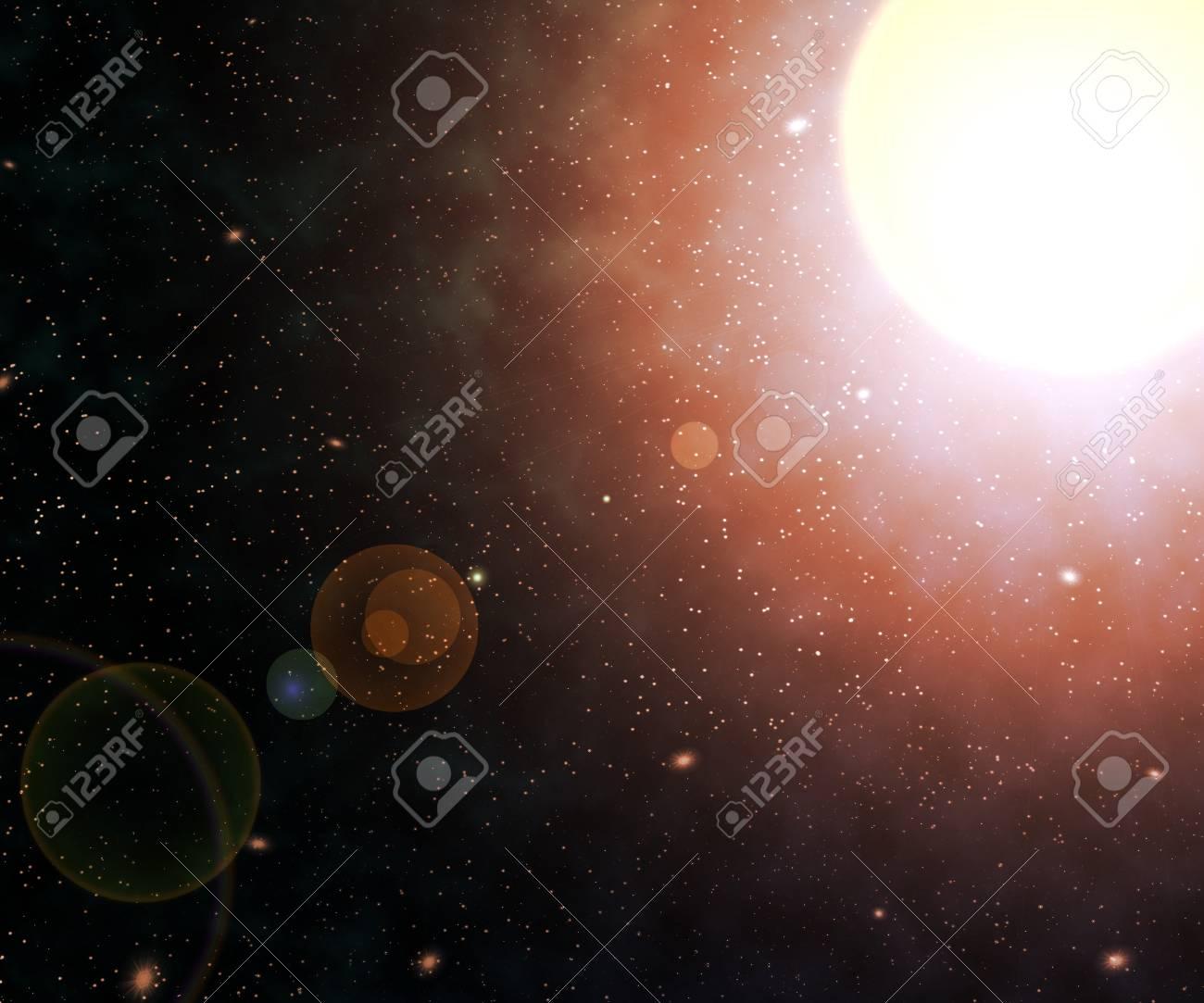 Star Nebula Space Backdrop Stock Photo - 21138513