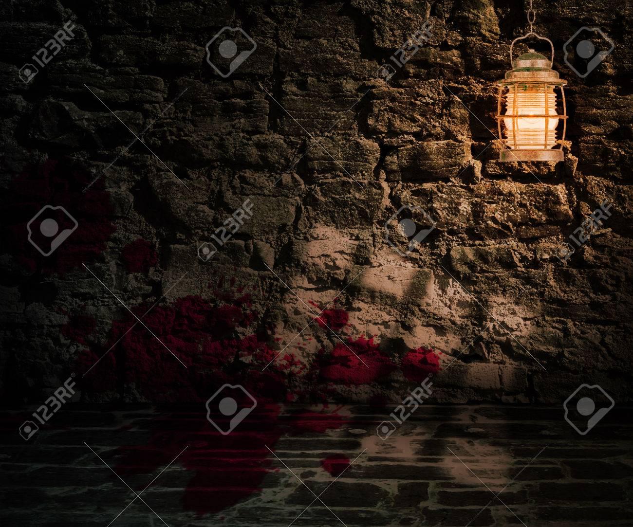 dungeon halloween backdrop stock photo 23838339
