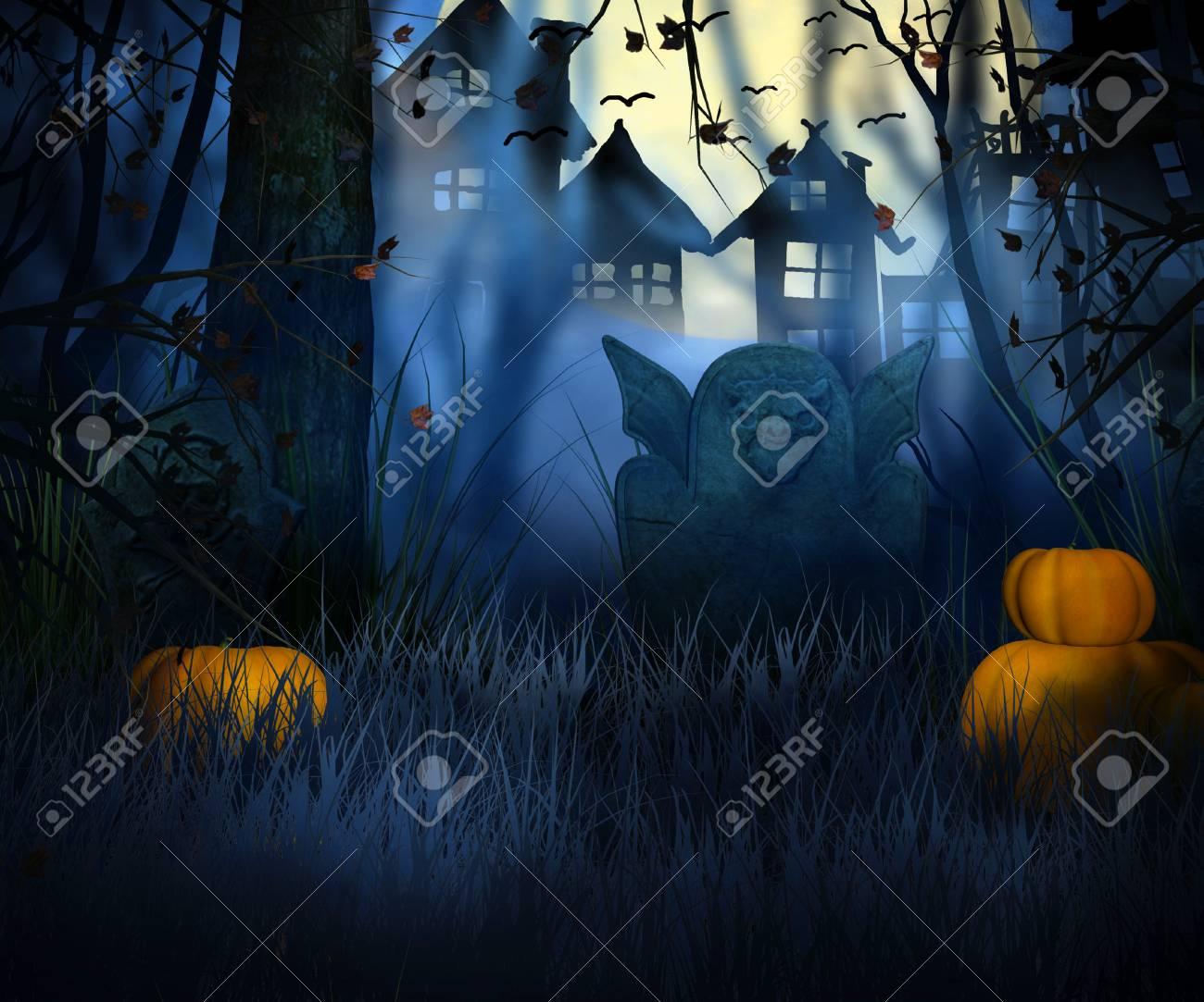 dark halloween backdrop stock photo 23838346