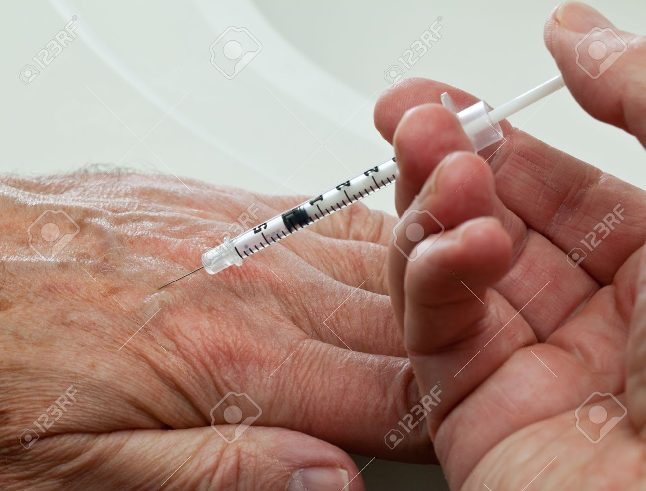 Hypodermic Needle Injection