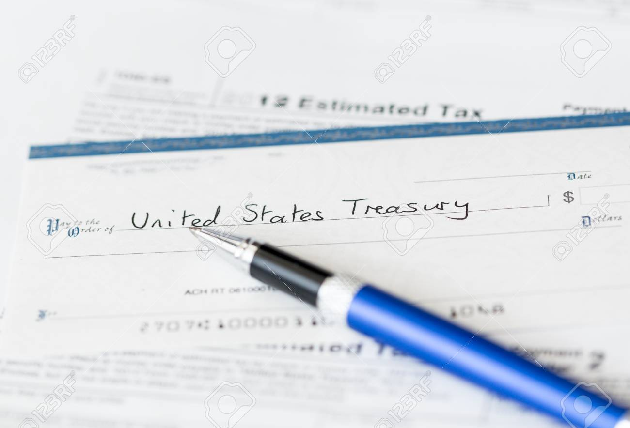 Tax Form 1040 For Tax Year 2012 For Us Individual Tax Return Stock