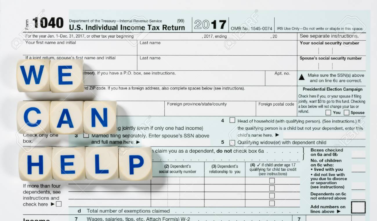 form 1040 help  Close macro photo of USA IRS tax form 17 for year 17 taken..