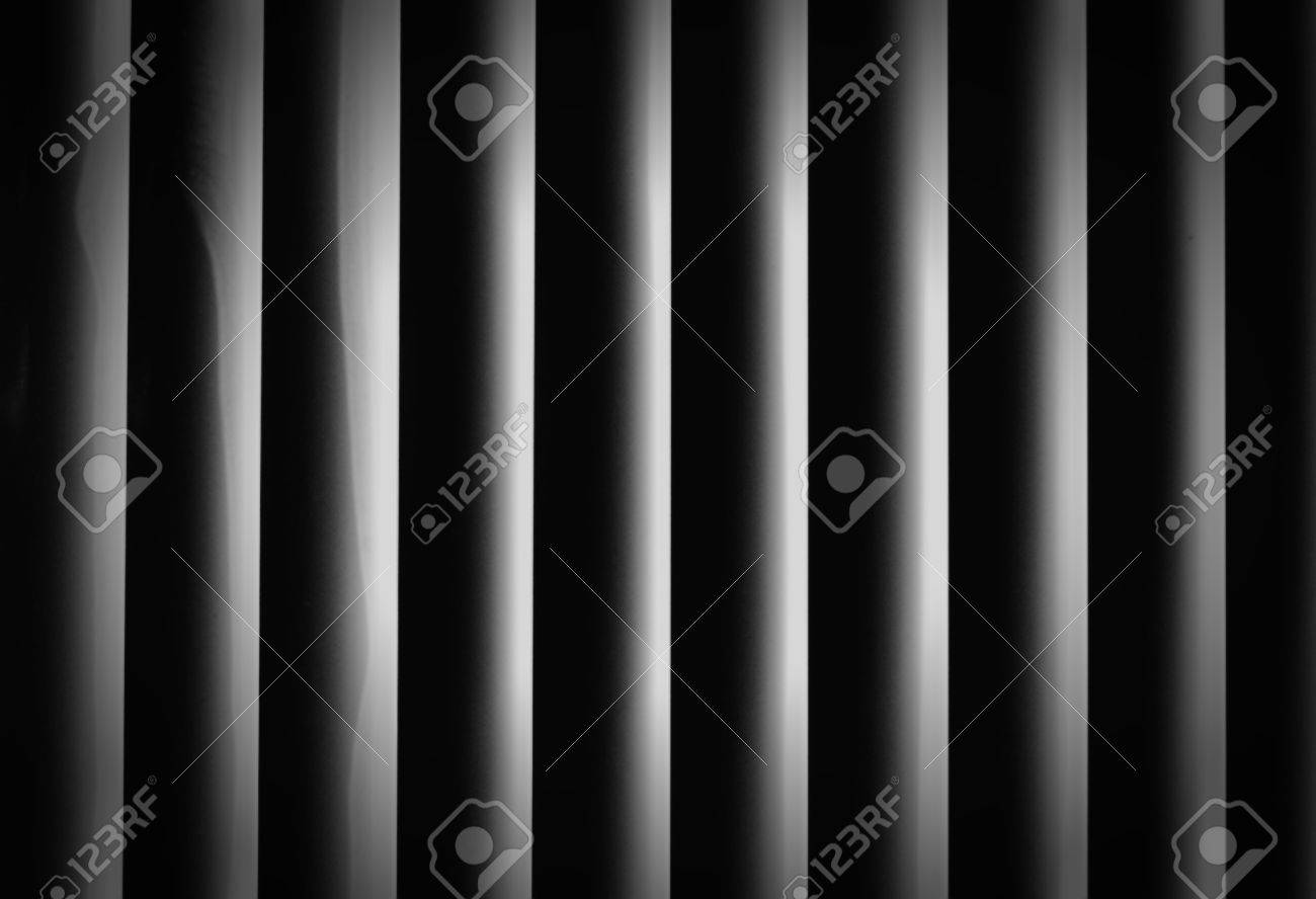 abstract black and white striped background Stock Photo - 10022473